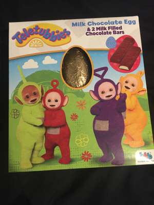 Teletubbies Milk chocolate egg 75p in Poundworld (other themes to)