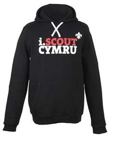 i.Scout Cymru Adult Hoodie £10.50 delivered from ScoutShop