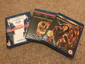 Hunger Games, Catching Fire & Headhunters Blu Ray £1 instore at Poundland