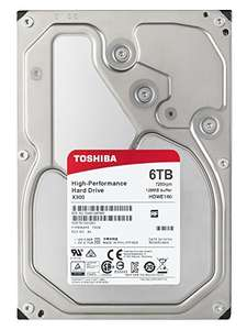 "Toshiba X300 6TB 7200RPM 128MB 3.5"" SATA HDWE160EZSTA £149.49 & FREE Delivery in the UK @ Amazon."