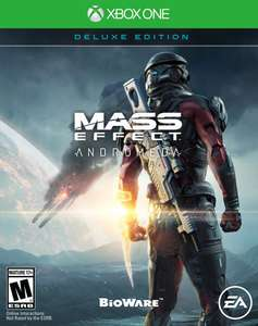 Mass Effect Andromeda - Deluxe Edition (physical version) | Xbox One | Amazon.com (US) £11.31 delivered