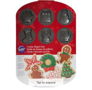 WILTON Cookie Shapes Pan £1 @ TK Maxx  (£1.99 C&C / £3.99 delivery)
