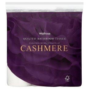 Waitrose: Cashmere/Aloe 9 roll toilet paper £3.50/£2.80 PYO