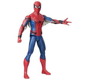 Spiderman Homecoming - Spiderman & Vulture (30cm) £6.25 each @ Tesco (In-store