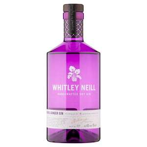Whitley neill rhubarb and ginger gin £22.00 was £26.00 Morrisons