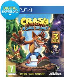 Crash Bandicoot PS4 @CDKeys only £22.99