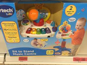Vetch sit and stand music centre reduced to clear @ Sainsbury's instore (Cheshire oaks) £12