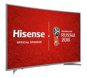 Hisense H55M6600 55 Inch Curved 4K Ultra HD in Argos for £499.