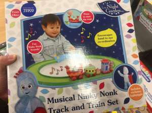 In The Night Garden Ninky Nonk Train And Track Set @ Tesco (broughton) £7.50