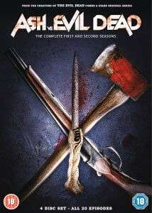 Ash vs evil dead season 1 & 2 DVD @ Zavvi