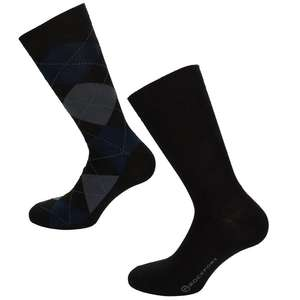 Rockport 2 pack of mens socks ,size 7-11 was £11.99 now £3.82 @getthelabel.com,+ free delivery