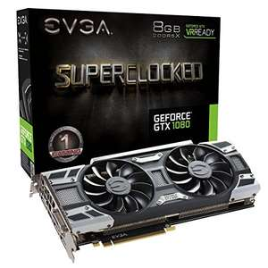 EVGA GeForce GTX 1080 SC GAMING Graphics card £519.02 from Amazon (in stock Feb 4th)