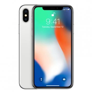 Apple iPhone X 64GB SIM FREE/ UNLOCKED - Silver - £792.99 @ eGlobal Central