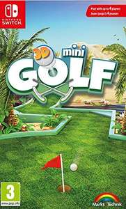 3D Minigolf Switch £16.99 pre-order (Prime / £18.98 non Prime) @ Amazon