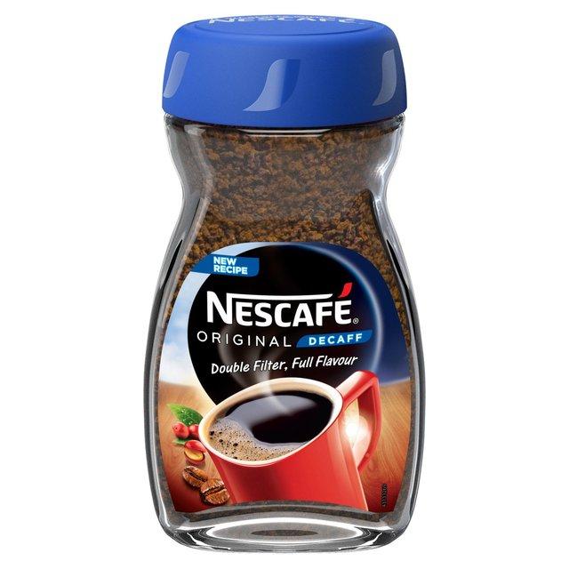 Nescafé Original Decaffeinated Coffee 200g - £4 @ Asda