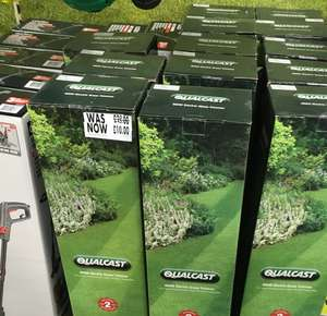 Qualcast 600W Electric Grass Trimmer £10 in store online £35 at HomeBase