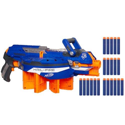 Nerf N-Strike Elite Hail-Fire Blaster - £29.98 free C+C @ Toys R Us