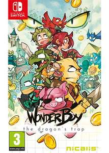 WonderBoy 3 The Dragons Trap SWITCH £27.85 pre-order @ Base