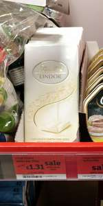 Lindt lindor white bar 100g, £1.31 @ Sainsbury's (Was £1.75)