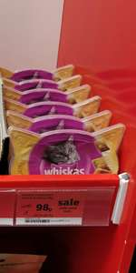 Whiskas temptations chicken & cheese 80g - 98p instore @ Sainsbury's