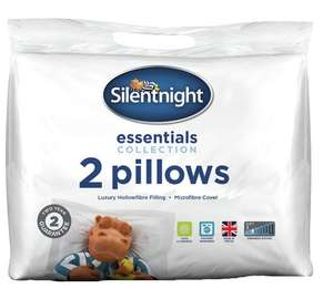 Offer stack !!! , NOT just pillows ,eg 2 packs of 2 silent night rolled pillows for £11.25 ( see post- ) @ argos