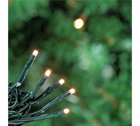 160 Multi-Function LED Lights - Warm White - 80% Off - £2.99 @ Argos