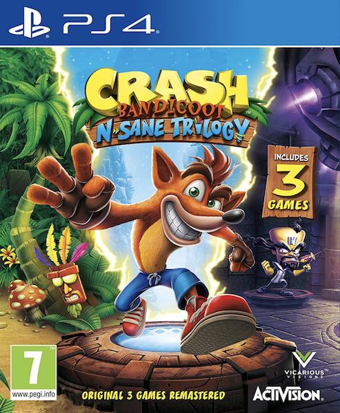 Crash Bandicoot N Sane Trilogy PSN Download PlayStation 4 £22.99 (£21.84 with 5% Discount) @ CDKeys