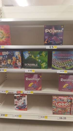 Reduced board games instore @ Tesco (High Wycombe) - from £5