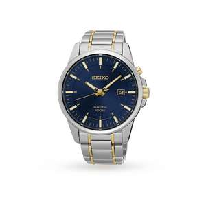 Goldsmiths Seiko kinetic watch was £279 now £135 with code extra10 further reduced to £121.50