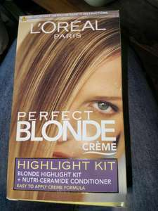 L'Oreal perfect blonde creme £1.63 instore @ Boots Tonbidge