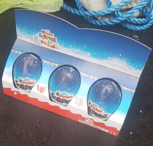 kinder eggs 6 pack @ asda 88p xmas stock Derby