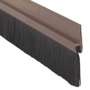 B&Q PVC & Brush Draught Excluder 838mm with free C&C, £5 reduced to £1.25