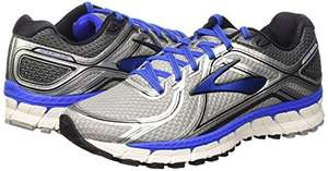 Brooks Men's Adrenaline GTS 16 Running Shoes, Black (Silver/Electricbrooksblue/Black) all sizes only £57.49 @amazon