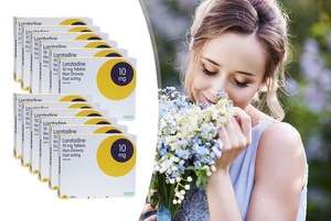 1 year's worth of hay fever meds £9 (+£2.99 del) - Clear Chemist via Wowcher