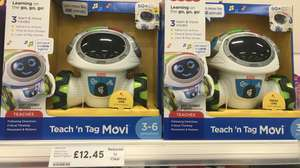 Fisher Price Teach and Tag Movi £12.45 instore @ Tesco