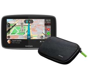 TomTom Start 52 5 Inch Sat Nav Western Europe Maps with case £99.99 @ Argos