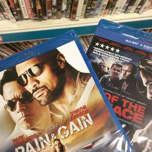 Blu Rays £1 in Poundland pain & gain