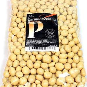 Just Treats Caramel Peanuts (1 Kilo Share Bag)