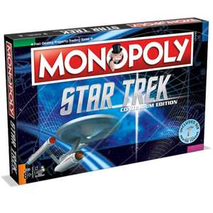 Monopoly - Star Trek Continuum Edition £16.19 delivered with code MERCH10 @ Zavvi