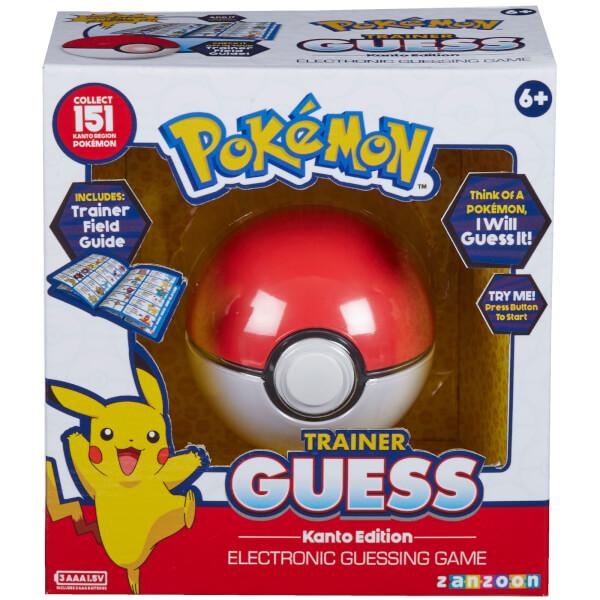 Pokemon Trainer Guess - Kanto Edition Game £14.39 delivered @ Zavvi