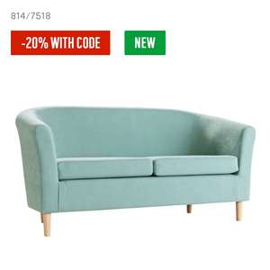Tub sofa in various colours leather and fabric - £119.99 @ Argos (with code)