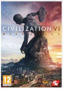 Civilization VI: Rise and Fall - £17.99 (£17.09 with FB code) @ CD Keys