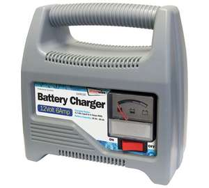 Streetwize 12V Automatic Battery Charger £18.99 @ Argos.