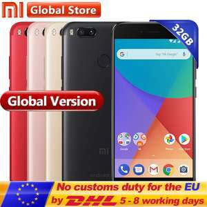 Xiaomi Mi A1 4gb 32gb Gold £134.55 @ Store: Mi Global Store AliExpress