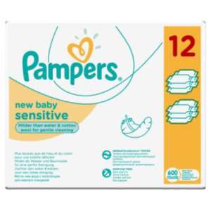 Pampers baby wipes x 12 £7 @ Asda