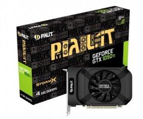 Palit GeForce GTX 1050 Ti StormX 4GB GDDR5 Graphics Card £136.98 @ Ebuyer
