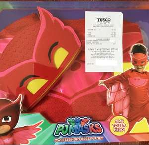 PJ Masks Costumes £7.50 @ Tesco (Welling) Normally £21.50
