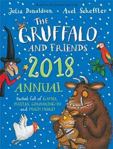 Gruffalo and Friends 2018 Annual - now 75% off only £1.99 (Prime) / £3.98 (non Prime)  at Amazon