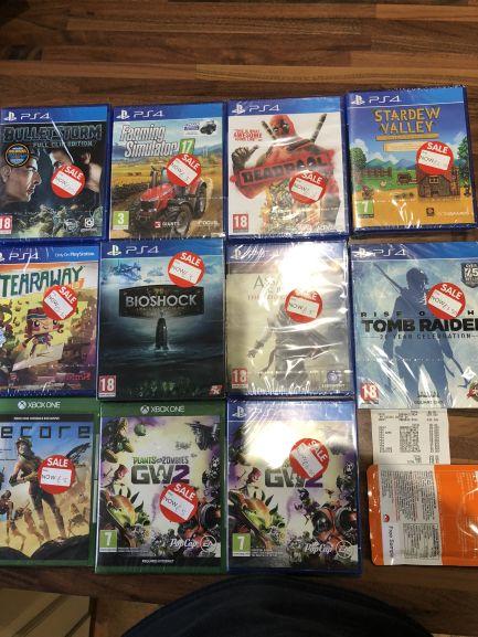 More cheap PS4 & XB1 games instore at ASDA - Minworth