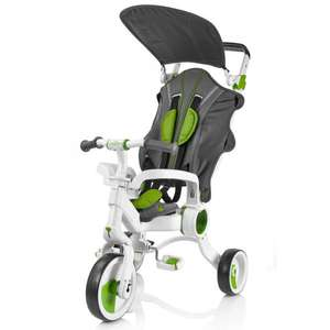 Galileo Folding Strollcycle (4 in 1 stroller and tricycle) was £149.99 now £64.99 / Plum® Metal Activity Centre Was £249 then £149 now £90 / Plum® Metal Dome now £70 w/code @ ELC